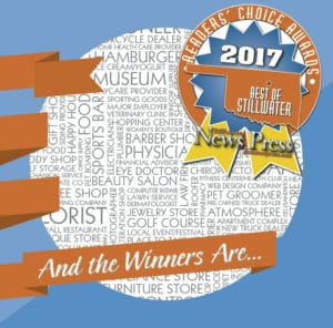 Stillwater Martial Arts won the Readers Choice 2017 for best Martial Arts Studio!