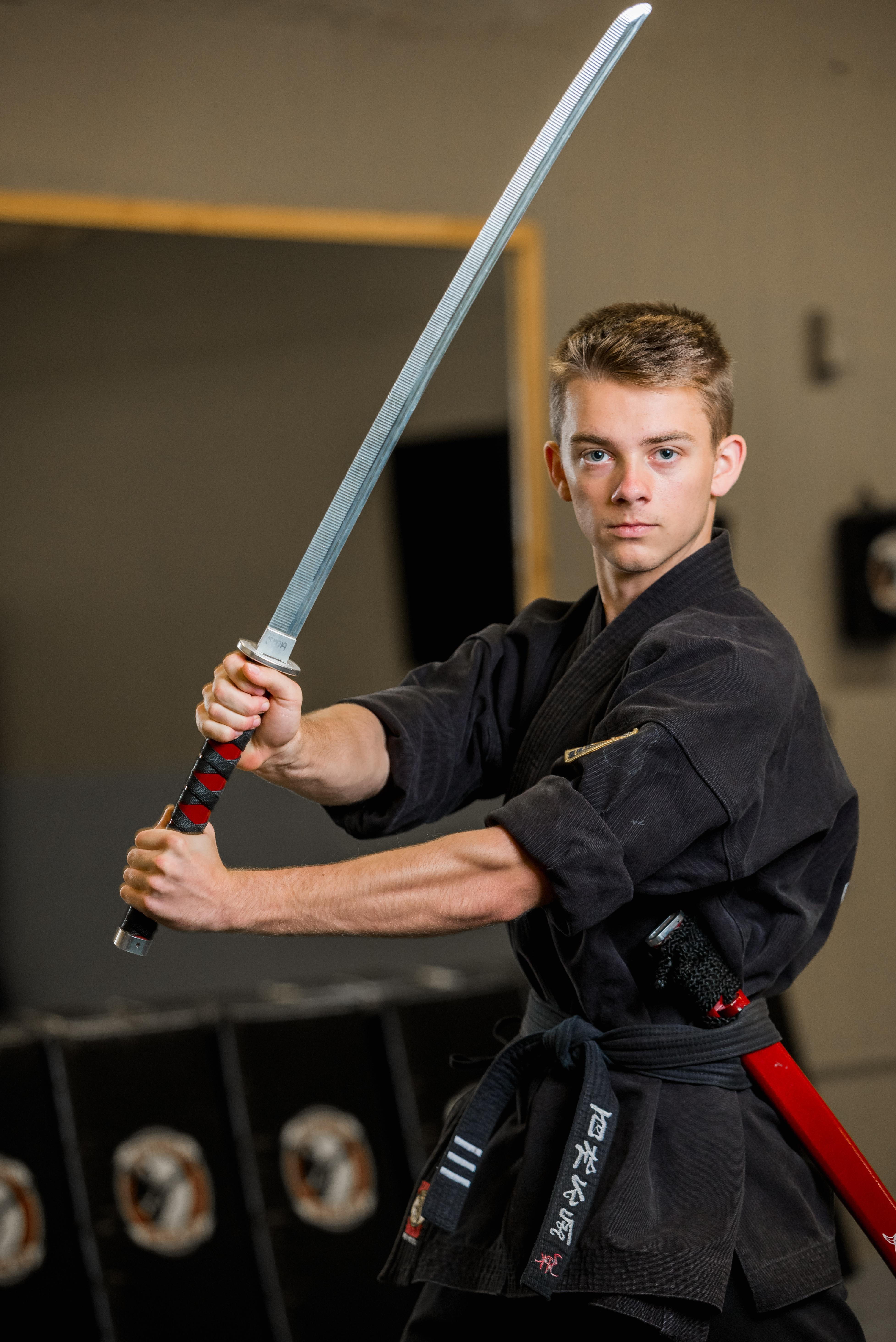 Stillwater Martial Arts Black Belt Jared Croston